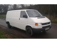 VOLKSWAGON T4 TRANSPORTER CARAVELLE DAY VAN SURF BUS LONG MOT READY TO USE