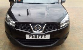 STUNNING NISSAN QASHQAI 1.5 VISIA PURE DRIVE nTEC IN METTALIC BLACK WITH GREAT FEATURES