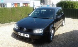 VOLKSWAGON GOLF VR6 4 MOTION good condition full service history.