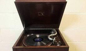 Vintage hmv gramophone
