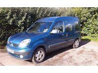 Renault Kangoo 1.6 petrol automatic WHEELCHAIR ADAPTED VEHICLE VGC
