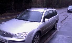 2004 Ford Mondeo. Estate. Automatic. Alloy wheels. Spares or repair
