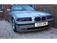 bmw 323i e36 convertable 12 months mot loads of new parts fitted
