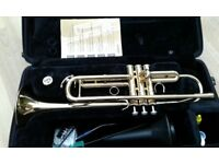 Yamaha YTR4335G Bb Trumpet , intermediate instrument, excellent condition.