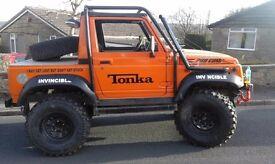 Suzuki samurai sport challenge truck