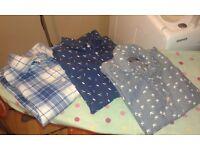 4 x Boys age 7-8 years long sleeve shirt bundle