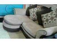 Ex display dfs modular corner sofa delivery free