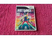 WII GAME JUST DANCE 2018