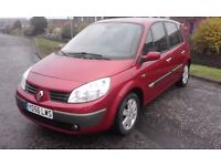 RENAULT MEGANE SCENIC ESTATE 1.6 VVT DYNAMIQUE (EURO 4) PETROL.5 DOOR.MET RED.MOT,D NOVEMBER 2017