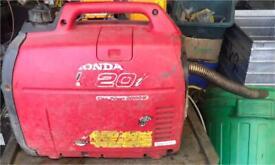 Honda silent generator 20i