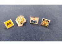 Old car badges