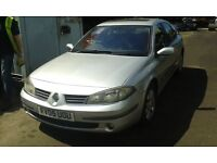 2005 Renault Laguna 1.9 DCi 95 expression silver ted69 BREAKING FOR SPARES