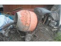 Spares repairs concrete mixer