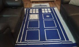 Dr.Who - Police Box - Single duvet cover set