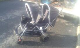 tandem pushchair