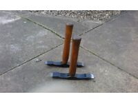 hammers scutching double ended x 2