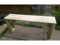 4ft garden bench