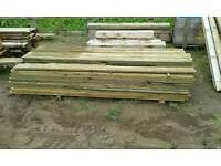 Timber tanilized new planking x 91.