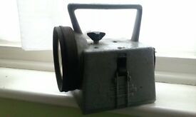 Vintage BR British Railways Bardic Lamp Light Lantern