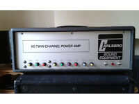 Carlsbro TC60 All Valve Guitar/Bass Amplifier