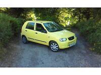 Suzuki alto GL - £30 a year tax!