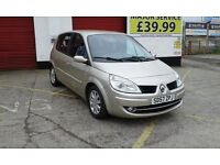 renault scenic megane automatic 2007 1.6cc for sale