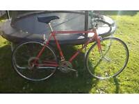 Old style racer bike