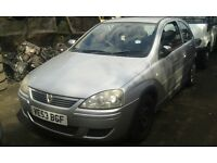 2003 Vauxhall Corsa 1.2 16v design easytronic silver z 157 BREAKING FOR SPARES