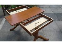 Italian dining table and 4 chairs