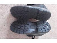Arco Essentials Black Work Boots Brand new Size 10