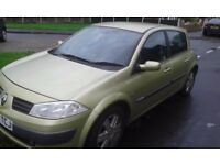 Renault megan 1.5 dci cheap car