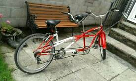 Tandem mountain Bicycle