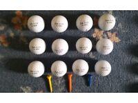 golf balls (Topflite 2000)