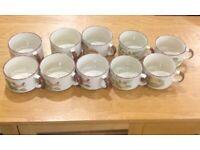 Vintage Shell Petrol Promo Soup Mugs joblot