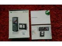 Sony Ericsson K750i in box
