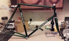 paul hewitt reynolds 531 531c Cinelli lugs campag BB & headset bike frame light tourer road audax