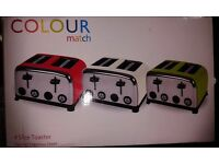 NEW !!! Toasters BARGAIN !!! 4 SL