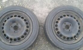 2 tyres used