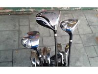 Right Handed (New) Gents Golf Package Set. Golfsmith Snake Eyes.