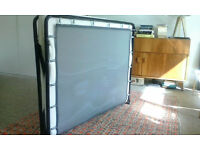 Folding memory double bed - new four months ago