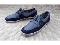 Fred Perry Mens Canvas Pumps Size 8