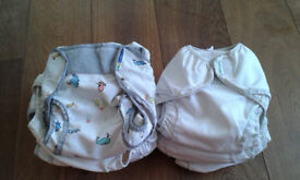 MotherEase CLOTH NAPPIES. BS2. Reusable organic cotton nappy system