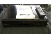 Toshiba DVR19DTKB DVD / Video Cassette Recorder