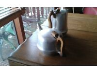 Tea pot like Mrs Brown's- and hot water jug in Piquot Ware