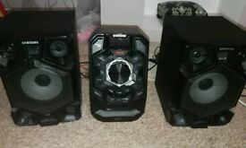 Samsung speaker / Bluetooth / CD player
