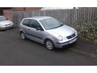 Vw polo 1.4 in good condition , sept mot