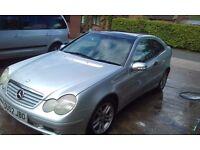 Mercedes C220 coupe diesel spares or repair