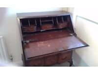 Edwardian/ edwardian style bureau