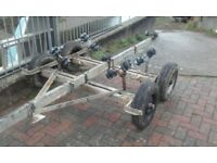 twin axle galvanised boat trailer project