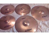 Zildjian ZBT drum symbols